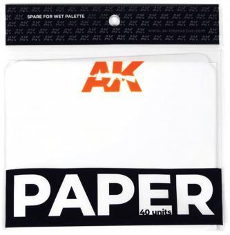 AK: Papier für die Nasspalette (40 Blatt)