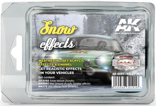 Schnee-Effekte (Rally Farbset)