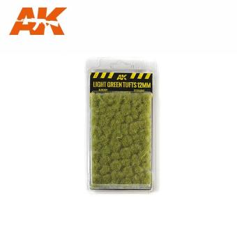Hellgrüne Grasbüschel 12 mm
