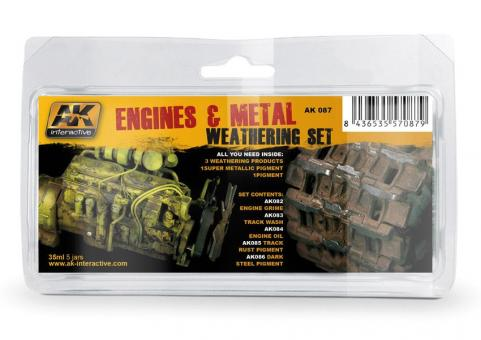 Motoren/Metallverwitterung-Farbset