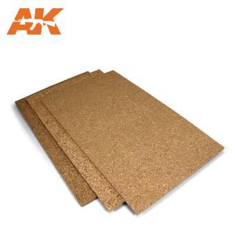 Cork Sheet – FINE grained 200x300x2mm