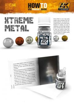 How to use product guide - Xtreme Metal  (AK Interactive) - Free Download