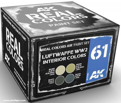 Deutsche Luftwaffe, 2. Weltkrieg. Set für Innenräume