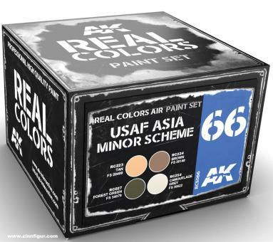 USAF Kleinasien Farbset
