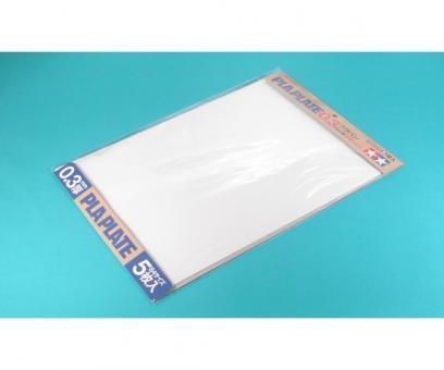 Kunststoff-Platte 0,3 mm -weiß-