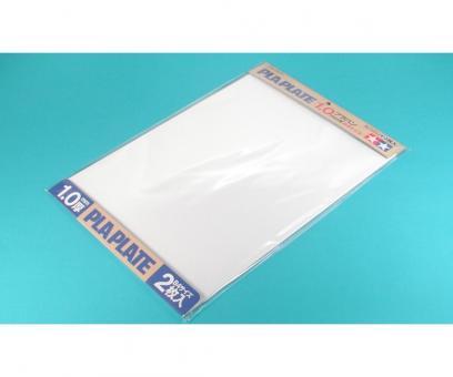 Kunststoff-Platte 1,0mm -weiß-