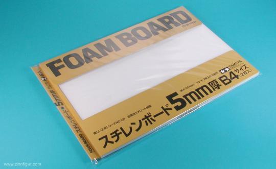 Foam sheet 5mm 257x364mm