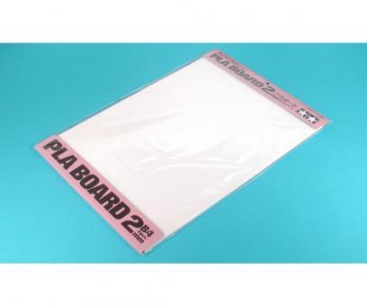 Kunststoff-Platte 2,0mm -weiß-