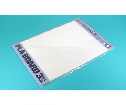 Kunststoff-Platte 3,0mm -weiß-