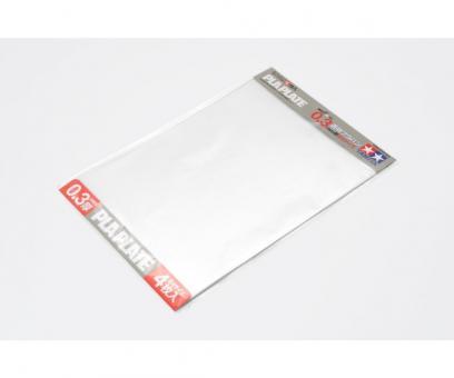 Kunststoff-Platte 0,3 mm -klar-