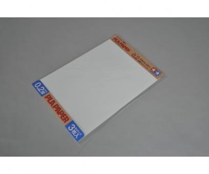 Kunststoff-Platte 0,2 mm -weiß-