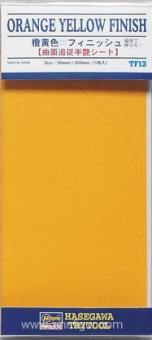 Orange Yellow Finish - 90 x 200 mm