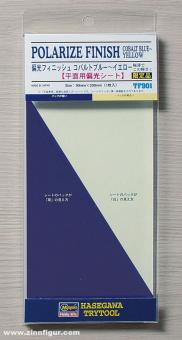 Polarize Finish - Cobalt Blue/Yellow