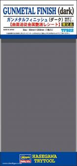 Gunmetal Finish (dark) - 90 x 200 mm
