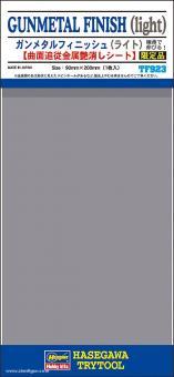 Waffenmetall hell - Klebefolie 90 x 200 mm