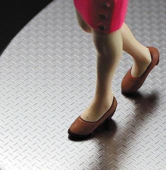 Klebefolie Stahl-Riffel-Platte