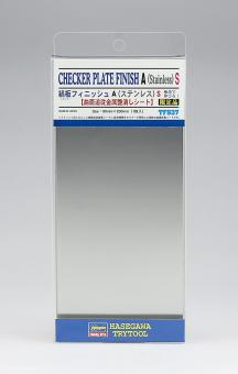 Checker Plate Finish A - Adhesive Foil 90 x 200 mm