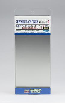 Riffelblech Typ A  - Klebefolie 90 x 200 mm