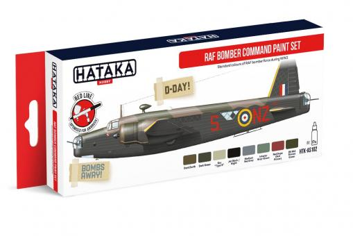 RAF Bomber Command paint set