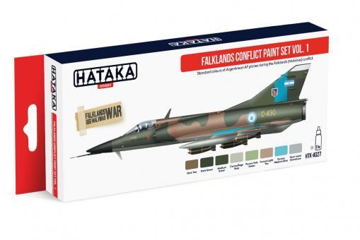 Falklands Conflict Paint Set Vol.1 - Argentine Air Force
