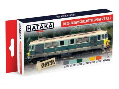 Polish Railways locomotives paint set vol. 2