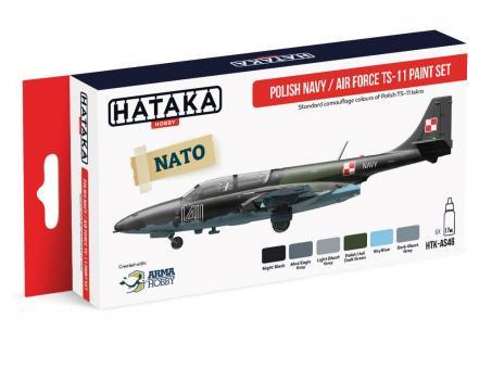 """Farbset Polnische Navy / Air Force """"TS-11"""""""