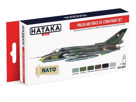 """Farbset Polnische Luftwaffe """"Su-22M4"""""""