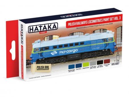 Polish Railways locomotives paint set vol. 3