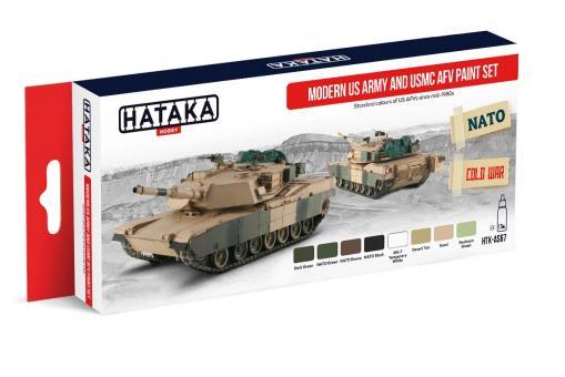 Farbset US Armee und USMC Fahrzeuge
