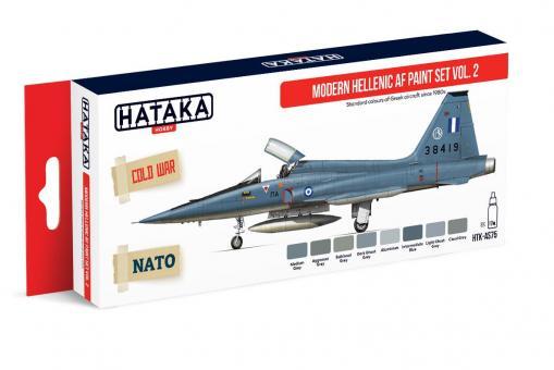 Farbset Moderne Griechische Luftwaffe, Teil 2