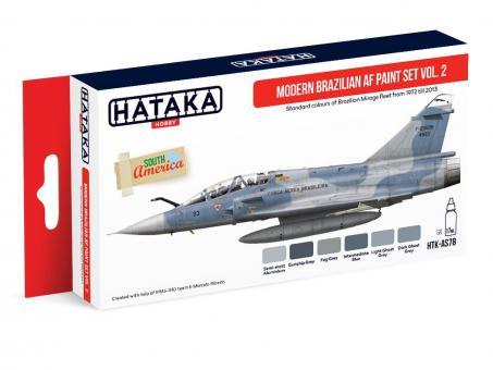 Farbset Moderne Brasilianische Luftwaffe 1972-2013, Teil 2