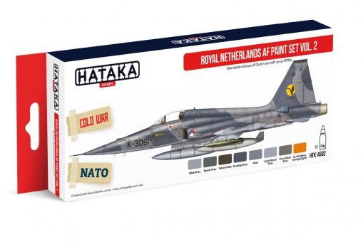 Farbset Königliche Niederländische Luftwaffe, Teil 2