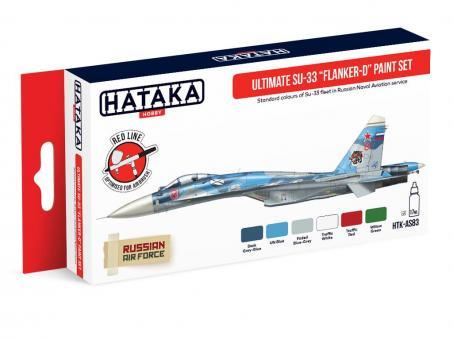 Ultimatives Su-33 Flanker-D Farbset
