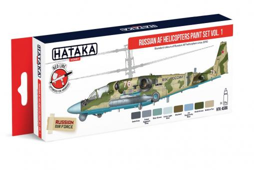 Russische Luftwaffe Helikopter-Farben Teil 1