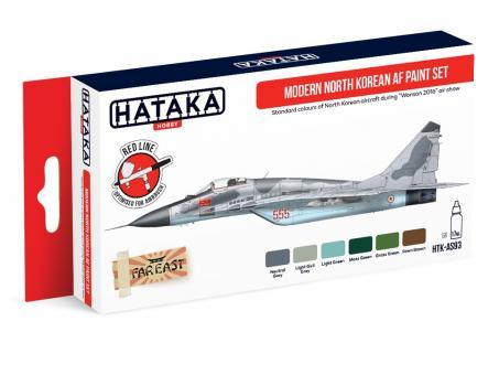 Modern North Korean AF paint set