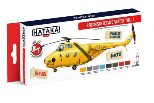British SAR Service paint set vol. 1