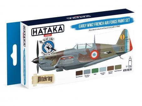 Farbset: (Blaue Serie) Frühe Französische Luftwaffe - 2. Weltkrieg