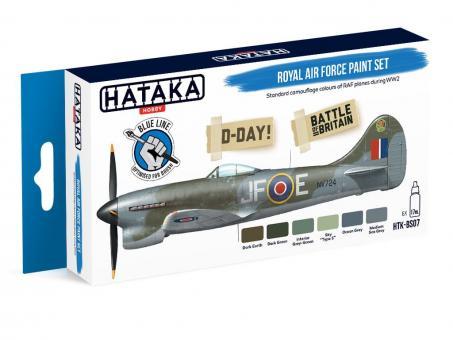 Farbset (Blaue Serie) Britische Luftwaffe