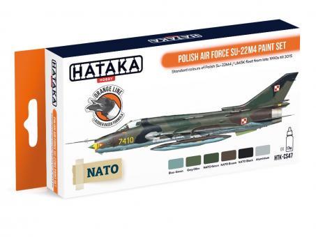 """Farbset  (Orange Serie) Polnische Luftwaffe """"Su-22M4"""""""