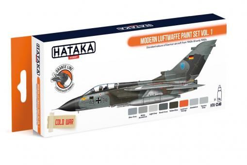"""Farbset  (Orange Serie) """"Moderne Luftwaffe"""" Teil 1"""