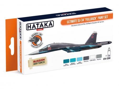 "Farbset (Orange Serie) Ultimative Su-34 ""Fullback"""
