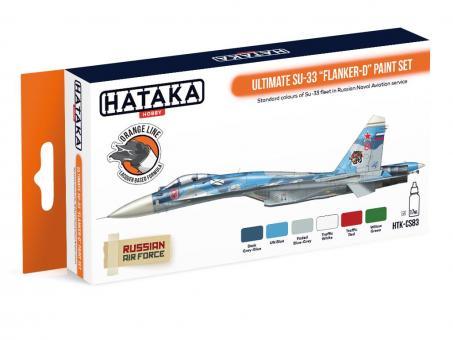 "Farbset (Orange Serie) Ultimate Su-33 ""Flanker-D"""