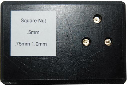 Square Tip Set for Nutter