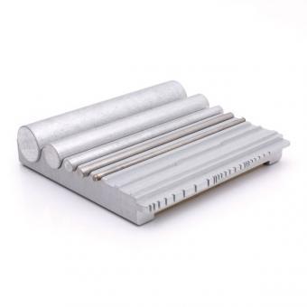 Werkzeug zum Formen von Radien, U-Formen und Zylindern
