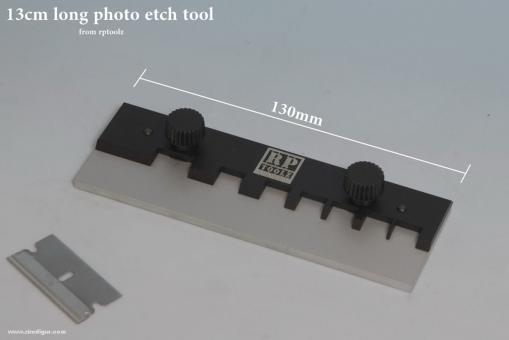 13 cm Ätzteil-Biegewerkzeug