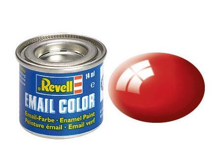 Feuerrot, glänzend - Email Color