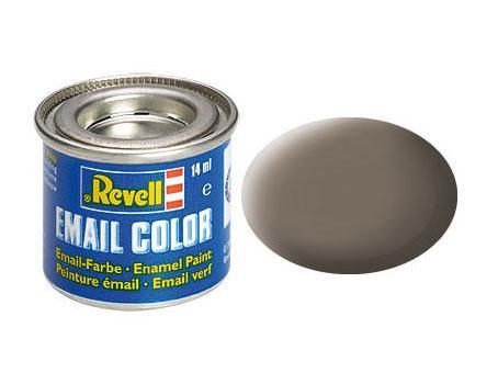 Erdfarbe, matt - Email Color