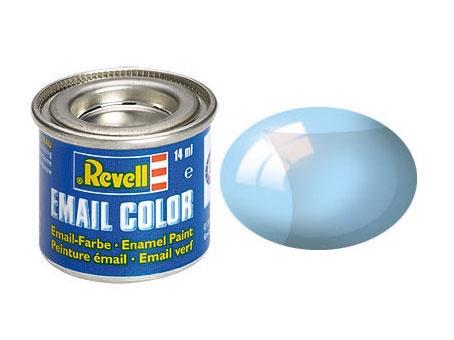Blau, klar - Email Color