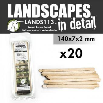20 Round Fence Board