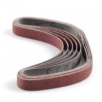 Ersatzschleifbänder für den BS/A, Korn 80